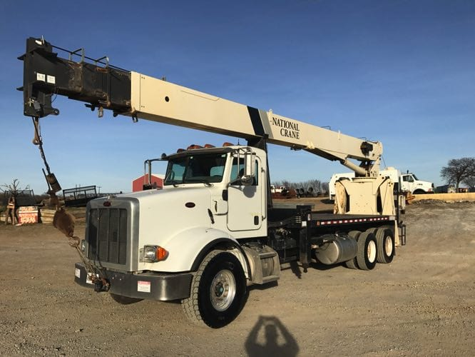 Online Auction From Multiple Locations In OK TX Crane Trucks Wireline Landscaping Construction