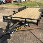 2017 TIGER MODEL 8318T FLAT BED TRAILER